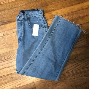 NWT J Brand high-rise crop straight jeans